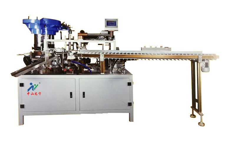 软管打孔贴膜锁盖机LN-011SG
