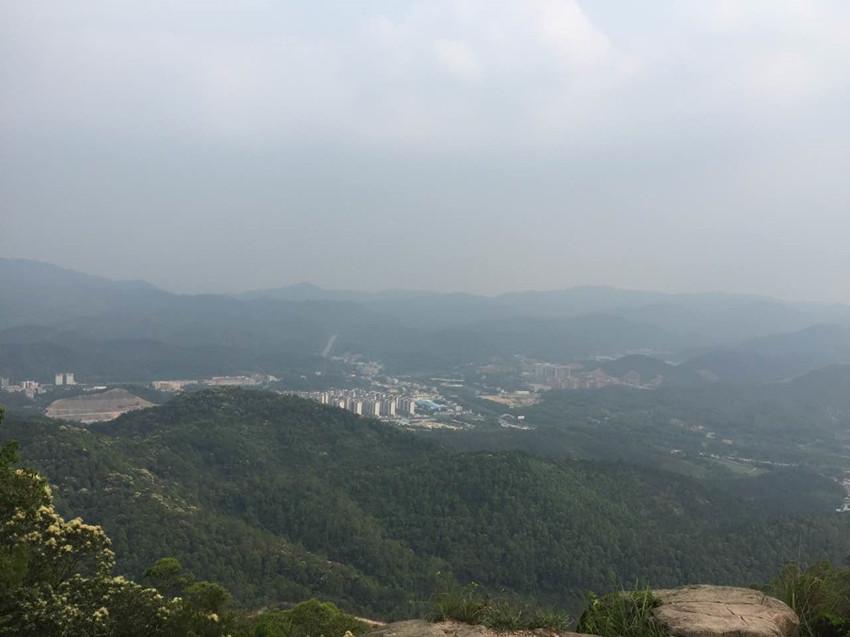 中山最高的山大尖山